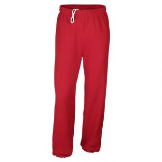 GILDAN NO POCKET SWEATPANTS WITH ELASTIC CUFFS