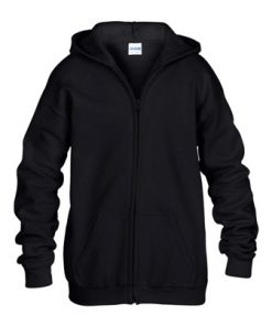 Gildan FULL ZIP HOODED SWEATSHIRT YOUTH