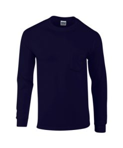 Gildan LONG SLEEVE T-SHIRT WITH POCKET