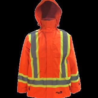 Viking Professional® Journeyman 300D Trilobal Rip-stop FR Jacket Orange