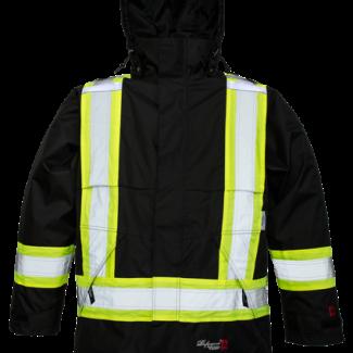 Viking Professional® Journeyman 300D Trilobal Rip-stop FR Jacket Black