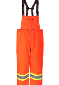 Viking Professional® Journeyman 300D Trilobal Rip-stop FR Bib Pants Orange