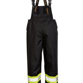 Viking Professional® Journeyman 300D Trilobal Rip-stop FR Bib Pants Black