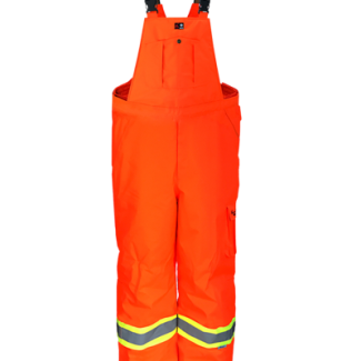 Viking Professional® Freezer Insulated Journeyman 300D Trilobal Rip-Stop FR Overalls Orange -50c/60f