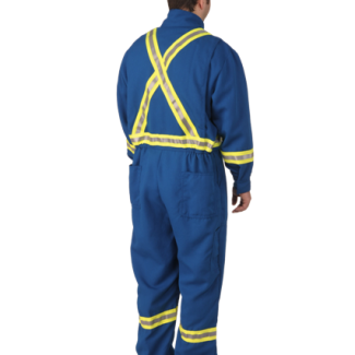 Viking® Firewall FR® CSA Striped Insulated Coveralls