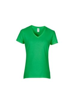 Gildan SEMI-FITTED LADIES T-SHIRT v-neck