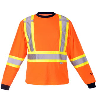 Viking® Safety Cotton Lined Long Sleeve Shirt