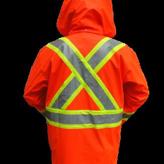 Viking® FR PU Jacket Orange