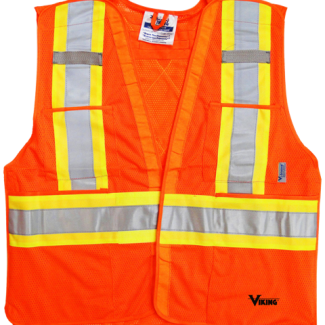 Viking® 5pt. Tear Away Safety Vest