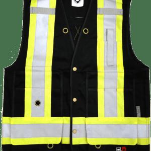 Viking Open Road FR Surveyor Safety Vest Black