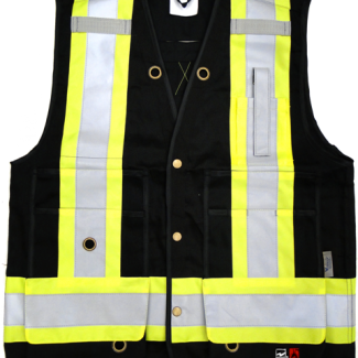 Viking Open Road FR Surveyor Safety Vest Black