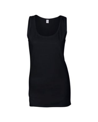 Gildan Fitted Ladies Softstyle tank top