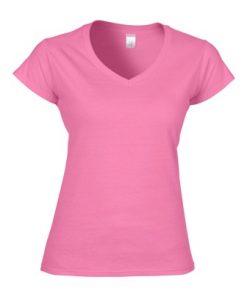 Gildan ADULT V-NECK T-SHIRT Ladies