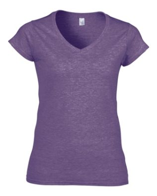 Gildan ADULT V-NECK T-SHIRT Ladies