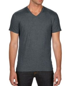 ANVIL Triblend V-neck tee