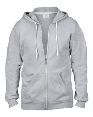 ANVIL CRS FASHION FULL-ZIP HOODED SWEATSHIRT