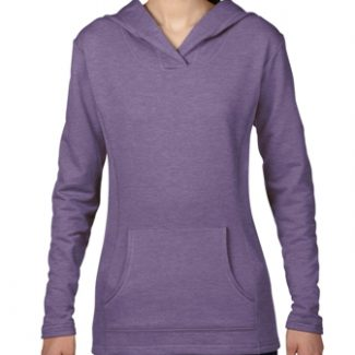 ANVIL Women's hooded French terry