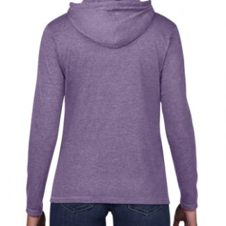 Anvil WOMEN'S CRS FASHION L/S HOODED TEE