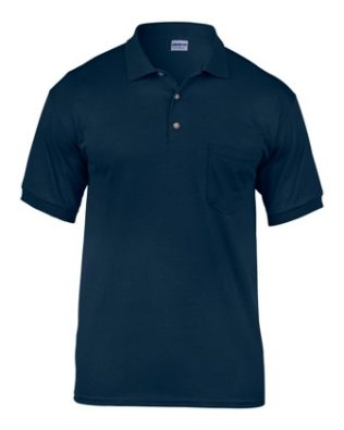 Gildan S/S JERSEY POLO WITH POCKET
