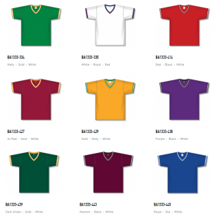 Athletic Knit Baseball Youth Jerseys - BA1333