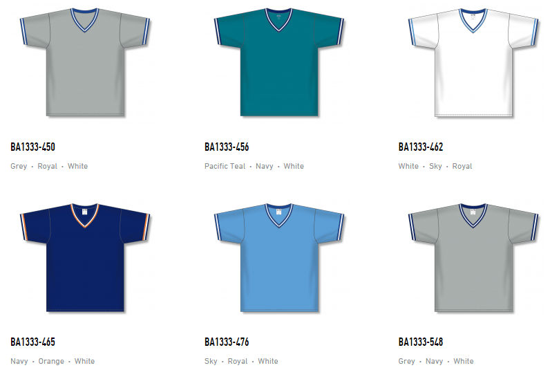 Athletic Knit Baseball Jerseys – BA1333 4