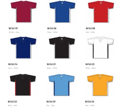 Athletic Knit Baseball Youth Jerseys – BA1343