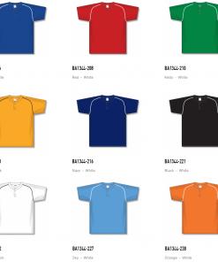Athletic Knit Baseball Jerseys - BA1344