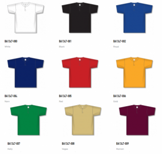 Athletic Knit Baseball Jerseys - BA1347