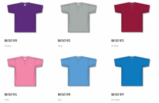 Athletic Knit Baseball Youth Jerseys - BA1347