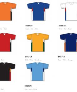 Athletic Knit Baseball Jerseys - BA563