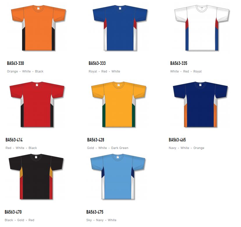 Athletic Knit Baseball Jerseys – BA563 2