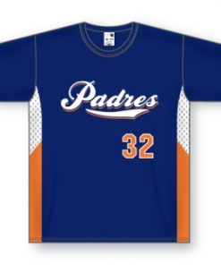 Athletic Knit Baseball Jerseys - BA563