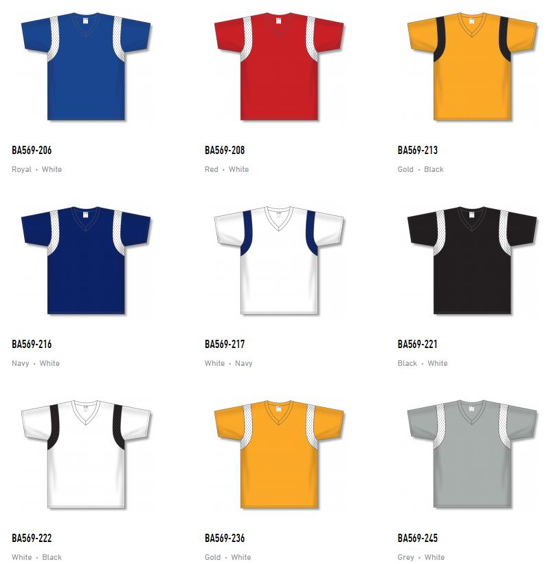 Athletic Knit Baseball Jerseys – BA569 2