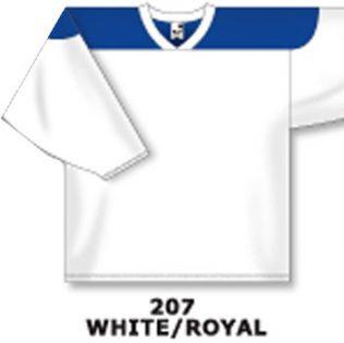 Athletic Knit Hockey Jersey H6100-White/Royal