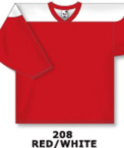 Athletic Knit Hockey Jersey H6100-Red/White