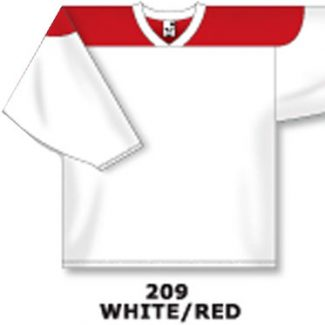 Athletic Knit Hockey Jersey H6100-White/Red