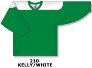 Athletic Knit Hockey Jersey H6100-Kelly/White