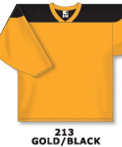Athletic Knit Hockey Jersey H6100-Gold/Black