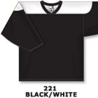Athletic Knit Hockey Jersey H6100-Black/White