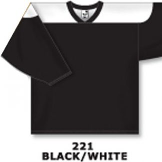 Athletic Knit Hockey Jersey H6100-Black/White
