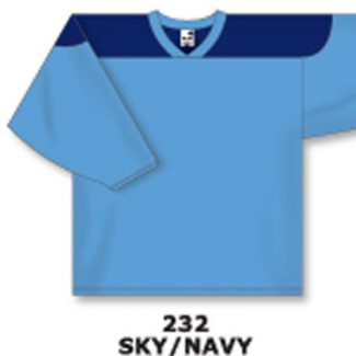 Athletic Knit Hockey Jersey H6100-Sky/Navy