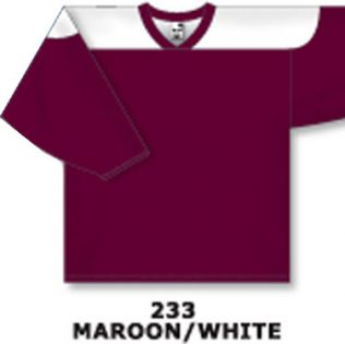 Athletic Knit Hockey Jersey H6100-Maroon/White