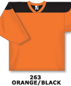 Athletic Knit Hockey Jersey H6100-Orange/Black