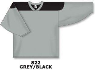 Athletic Knit Hockey Jersey H6100-Grey/Black