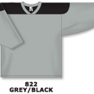 Athletic Knit Hockey Jersey H6100-Grey/Black