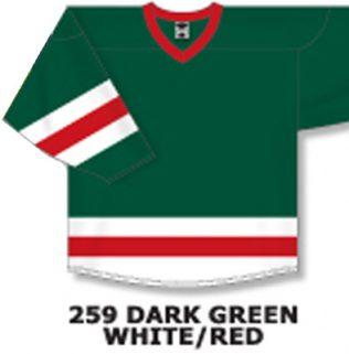 H6500 - Dark Green/White/Red