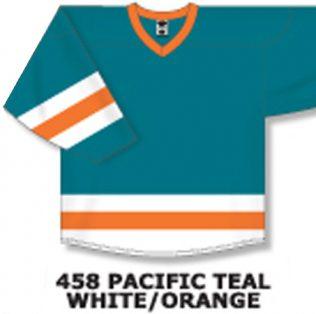 H6500 - Pacific Teal/White/Orange