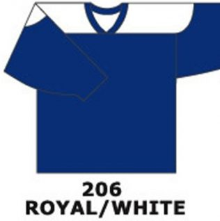 H681- Royal/White