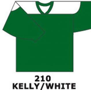 H681- Kelly/White