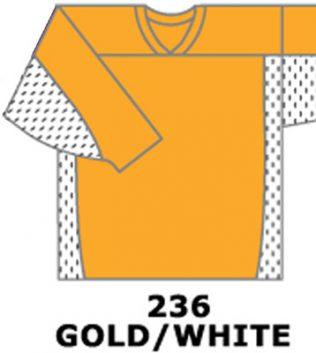 H687-Gold/White